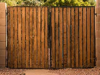 The Consumer Guide to Buying Wooden Gates | Gate Repair Highland Park TX